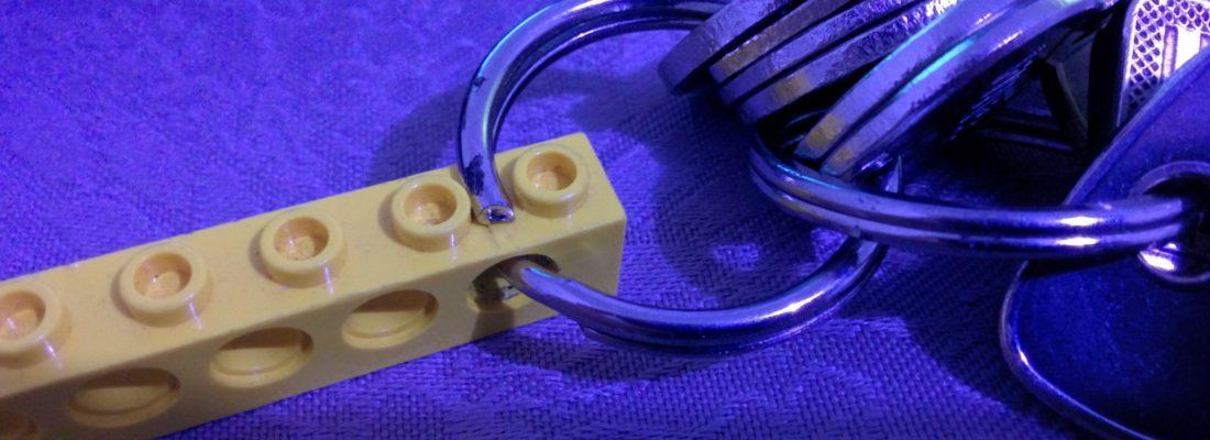 Porte clés LEGO